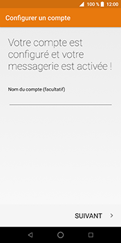 ZTE Blade V9 - E-mail - Configuration manuelle (outlook) - Étape 13