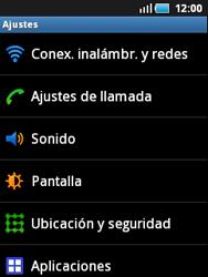 Samsung S5570 Galaxy Mini - Internet - Configurar Internet - Paso 4