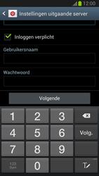 Samsung N7100 Galaxy Note II - E-mail - Account instellen (IMAP met SMTP-verificatie) - Stap 11
