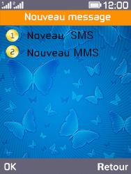 Archos F28 - Contact, Appels, SMS/MMS - Envoyer un SMS - Étape 5