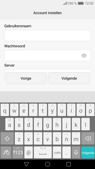Huawei P9 Plus - E-mail - e-mail instellen: POP3 - Stap 10
