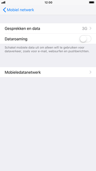 Apple iPhone 6 Plus iOS 11 - Netwerk - 4G activeren - Stap 5