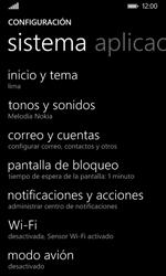 Nokia Lumia 635 - Funciones básicas - Activar o desactivar el modo avión - Paso 4