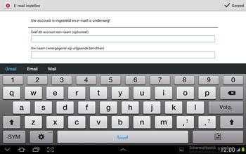 Samsung N8000 Galaxy Note 10-1 - E-mail - Handmatig instellen - Stap 18
