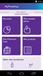 Acer Liquid Jade - Applications - MyProximus - Étape 14