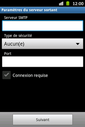 Samsung S6500D Galaxy Mini 2 - E-mail - Configuration manuelle - Étape 12