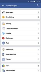 Samsung Galaxy S7 - Privacy - Privacy instellingen van Facebook aanpassen - Stap 29