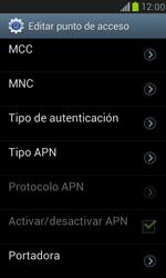 Samsung Galaxy S3 Mini - Mensajería - Configurar el equipo para mensajes multimedia - Paso 11