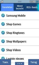 Samsung S7230E Wave TouchWiz - Internet - hoe te internetten - Stap 7