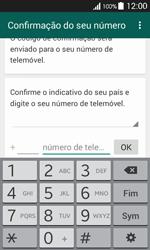 Samsung Galaxy Ace 4 - Aplicações - Como configurar o WhatsApp -  6