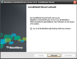 BlackBerry 9800 Torch - Software - Update installeren via PC - Stap 12