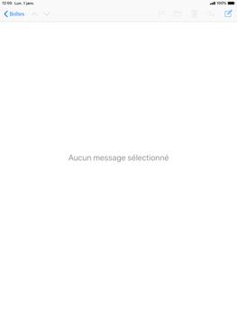 Apple iPad 9.7 (2018) iOS12 - E-mail - envoyer un e-mail - Étape 2