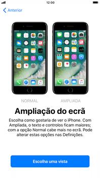 Apple iPhone 7 Plus iOS 11 - Primeiros passos - Como ligar o telemóvel pela primeira vez -  25