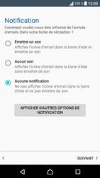 Sony Xperia XA - E-mail - Configurer l