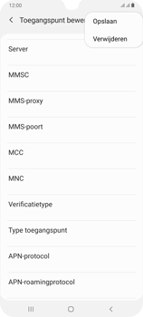 Samsung Galaxy A70 - Internet - handmatig instellen - Stap 18