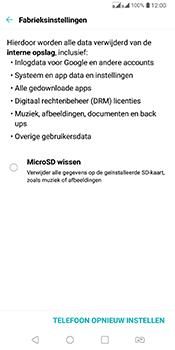 LG Q7 - Resetten - Fabrieksinstellingen terugzetten - Stap 6