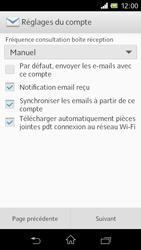 Sony C1905 Xperia M - E-mail - Configuration manuelle - Étape 16
