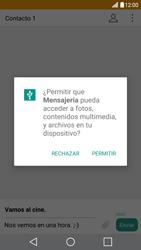 LG G5 - Mensajería - Escribir y enviar un mensaje multimedia - Paso 14