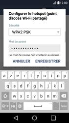 LG K4 - Internet et connexion - Partager votre connexion en Wi-Fi - Étape 8