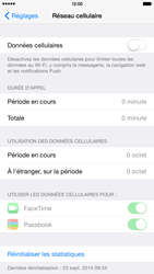 Apple iPhone 6 Plus iOS 8 - Internet - activer ou désactiver - Étape 5