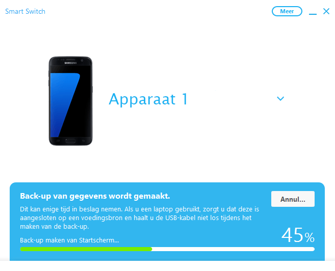 Samsung A300FU Galaxy A3 - Software - Back-up maken of terugplaatsen - Stap 6