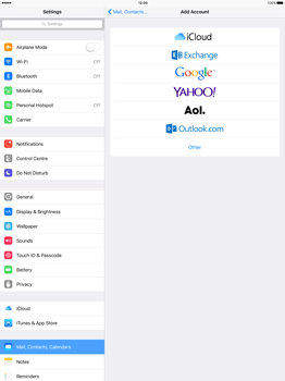 Apple iPad Pro 12.9 (1st gen) - iOS 9 - Email - Manual configuration - Step 5