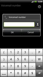 HTC X515m EVO 3D - Voicemail - Manual configuration - Step 7