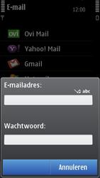 Nokia C7-00 - E-mail - Handmatig instellen - Stap 9