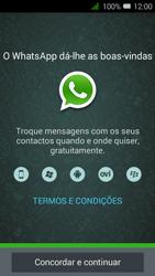 Alcatel Pixi 3 - Aplicações - Como configurar o WhatsApp -  5
