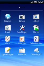 Sony Ericsson Xperia X8 - E-mail - handmatig instellen - Stap 3