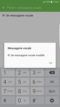 Samsung Samsung Galaxy S6 Edge+ - Android M - Messagerie vocale - configuration manuelle - Étape 11