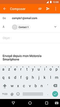 Motorola Moto E4 Plus - E-mails - Envoyer un e-mail - Étape 7