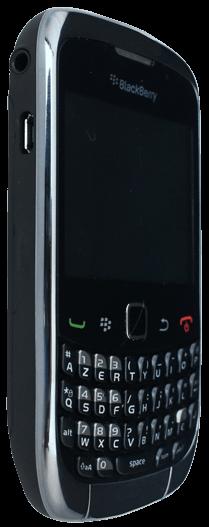 BlackBerry curve 3G - Premiers pas - Découvrir les touches principales - Étape 8
