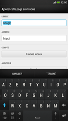 HTC One Max - Internet - navigation sur Internet - Étape 9