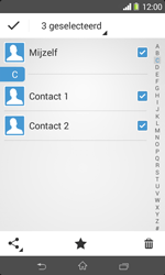 Sony Xperia E1 (D2005) - Contacten en data - Contacten overzetten via Bluetooth - Stap 8