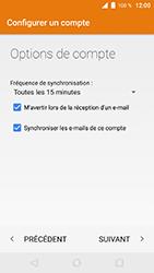 Wiko WIM Lite - E-mails - Ajouter ou modifier un compte e-mail - Étape 24