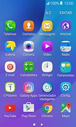 Samsung Galaxy J1 - Wi-Fi - Como usar seu aparelho como um roteador de rede wi-fi - Etapa 3