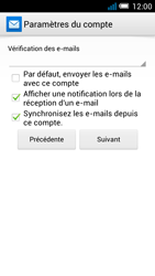 Alcatel OT-5036X Pop C5 - E-mail - Configurer l