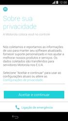 Motorola Moto X (2014) - Primeiros passos - Como ativar seu aparelho - Etapa 8