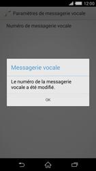 Sony Xperia Z2 (D6503) - Messagerie vocale - Configuration manuelle - Étape 9