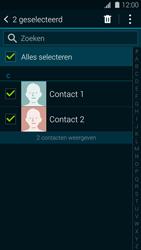 Samsung G900F Galaxy S5 - Contactgegevens overzetten - delen via Bluetooth - Stap 7