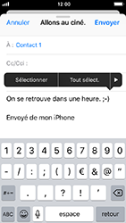 Apple iPhone 5s - iOS 12 - E-mail - envoyer un e-mail - Étape 8