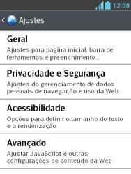 LG E430 Optimus L3 II - Internet (APN) - Como configurar a internet do seu aparelho (APN Nextel) - Etapa 23