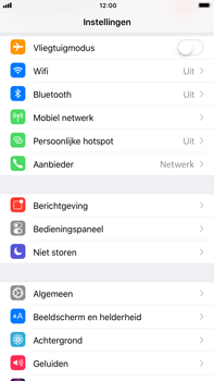 Apple Apple iPhone 6s Plus - iOS 11 - Internet - Aan- of uitzetten - Stap 3