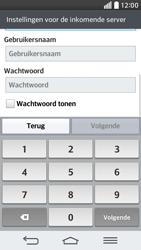 LG D620 G2 mini - E-mail - Account instellen (POP3 met SMTP-verificatie) - Stap 11
