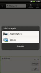 HTC S720e One X - MMS - envoi d'images - Étape 9