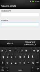 HTC One Mini - E-mail - Configuration manuelle - Étape 19