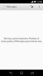 Sony Xperia L - Mensajería - Escribir y enviar un mensaje multimedia - Paso 4