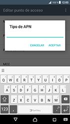 Sony Xperia XZ - Android Nougat - Internet - Configurar Internet - Paso 14