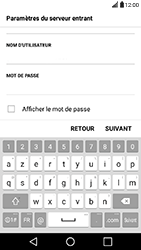 LG X Power - E-mail - Configuration manuelle - Étape 11